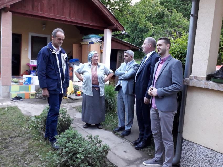 Pomoć porodicama koje su oštećene u poplavama