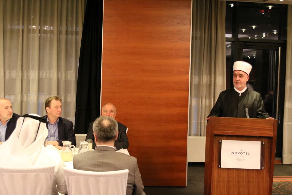 Reisu-l-ulema na iftaru sa privrednicima