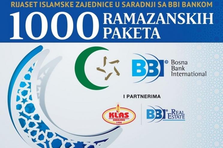 Podjela 1.000 ramazanskih paketa