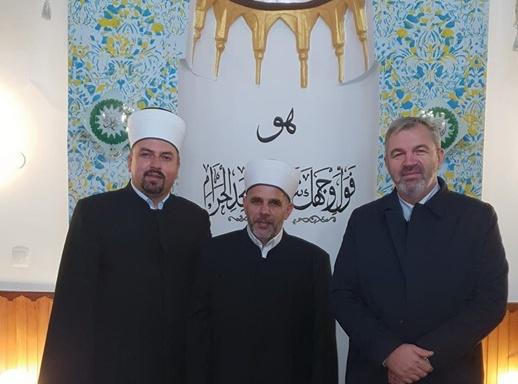 Rukovodilac Ureda za zekat Vehid-ef. Arnaut gost hatib u Lubinoj džamiji