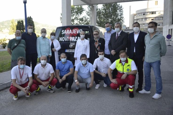 Islamska zajednica opremila i dala logističku podršku ljekarima koji odlaze u Sandžak