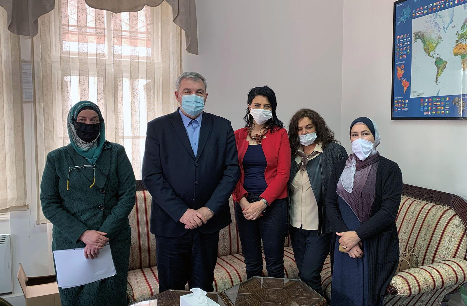 Ured za društvenu brigu posjetili predstavnici Udruženja dijaliznih i transplantiranih pacijenata KS