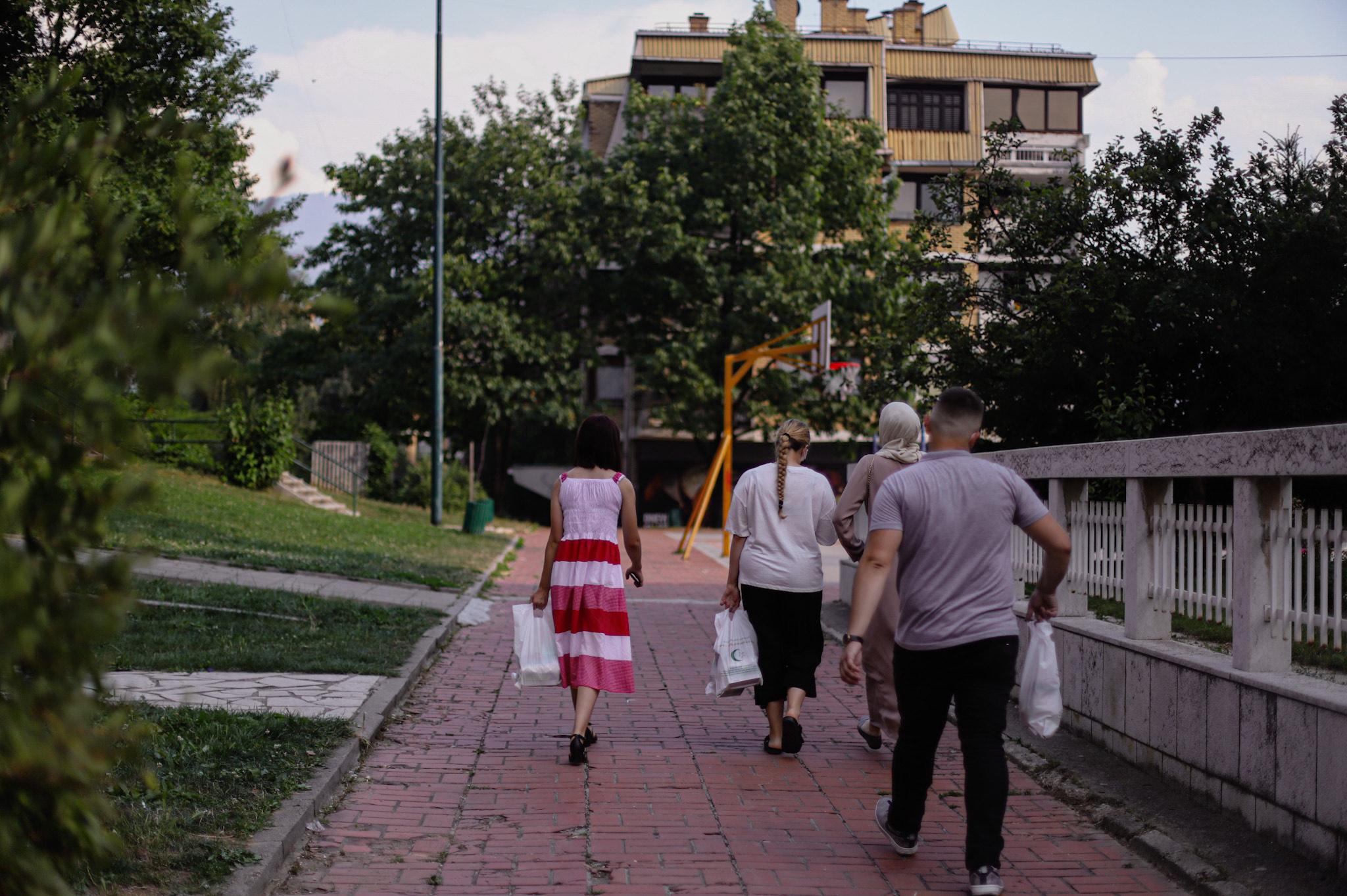 Zajedničke bajramske aktivnosti Ureda za društvenu brigu i Mreže mladih Sarajevo