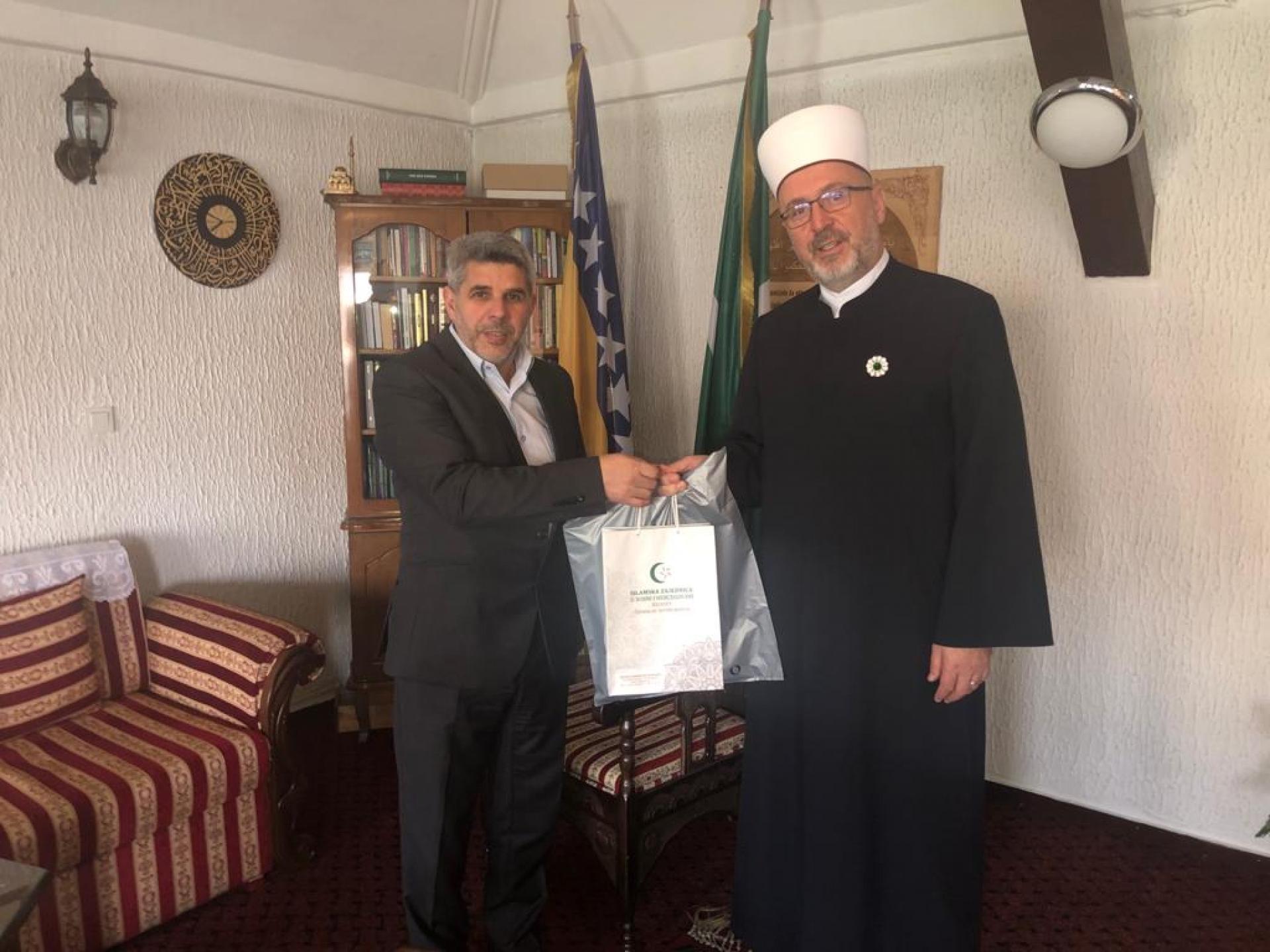 Rukovodilac Ureda za zekat posjetio Muftijstvo travničko i EIP medresu