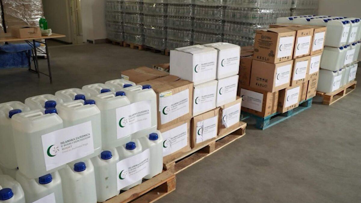 U mubarek danima Kurban-bajrama uručene donacije namijenjene migrantima